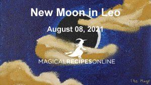 New Moon in Leo
