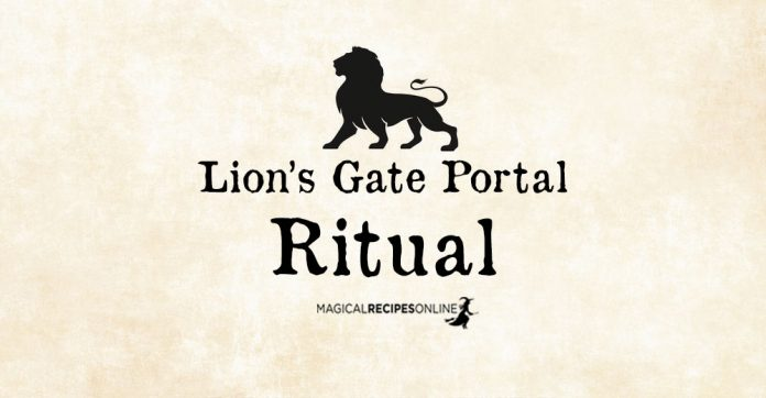 Lion's Gate Portal – Leo New Moon Ritual Davina Mackail