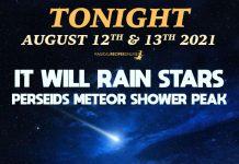 Perseid Meteor Shower 2021 - Tonight It Will Rain Stars & Fireballs!